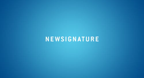 Be a Part of Something – Join New Signature