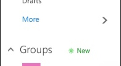 Office 365 Groups Accelerate Collaboration
