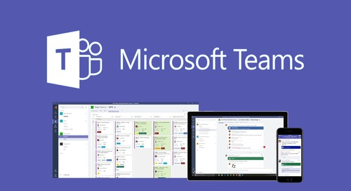 Microsoft Teams – A Single-Pane of Communication
