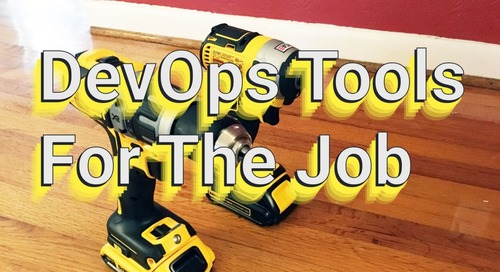 The DevOps Tool For The Job