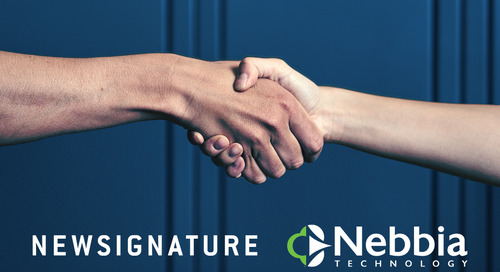 New Signature Acquires Nebbia Technology, a Microsoft Gold-Certified Partner and 2018 Finalist for DevOps Partner of the Year