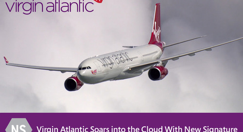 New Signature takes Virgin Atlantic Airways into the Cloud
