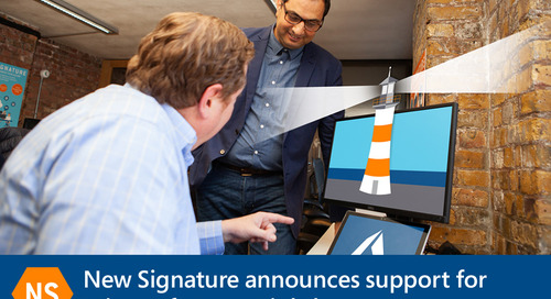 New Signature announces support for Microsoft Azure Lighthouse
