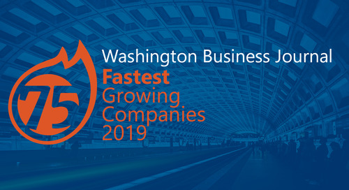 Washington Business Journal Lists New Signature as 75 Fastest Growing Companies