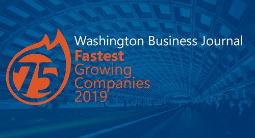 Washington Business Journal Lists New Signature as on of the 75 Fastest Growing Companies in D.C. Area