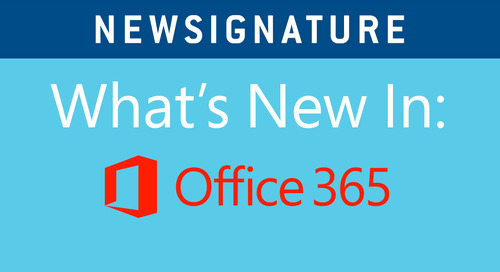 What's New in Office 365: Improving Accessibility, Word Tips and New Mobile Outlook Features