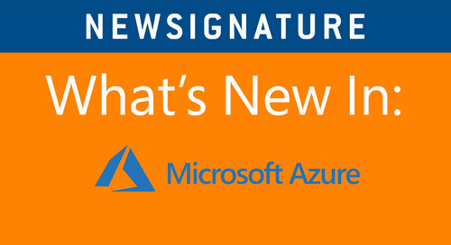 What's New in Azure: The Video Series –Episode 2