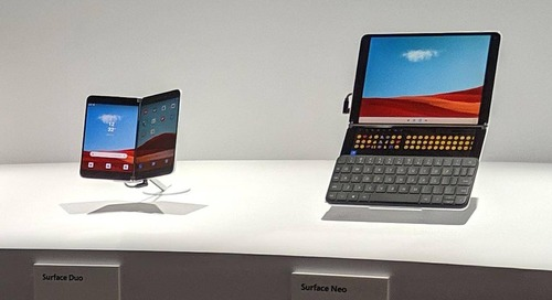 Two Screens and a Cover: Surface Duo and Surface Neo