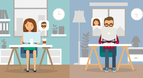 Five Tips for Managing a Remote Workforce – an Infographic Guide