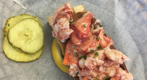 Maine-Style Lobster Rolls Come to Sea Isle