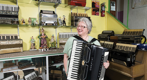 Acme Accordion School Breathes New Life into Old Fashioned Instrument