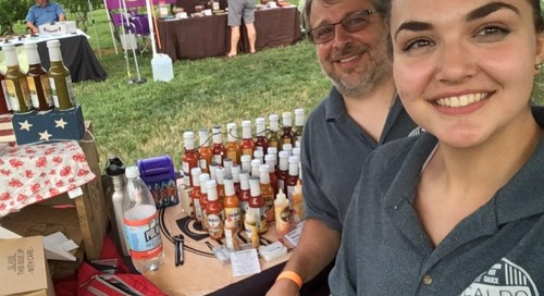 Caldo Churns Out Hot Sauce for a Cause