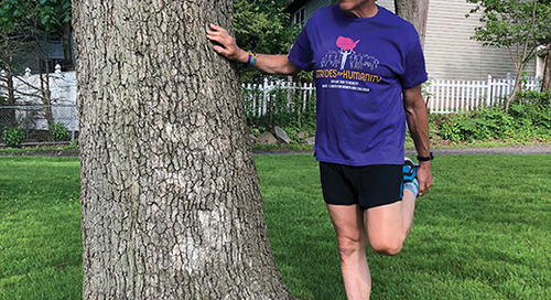 Marathoner Larry Grogin Goes the Distance for Unity