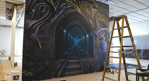 Graffiti Artists Leave Their Mark on Morris Museum