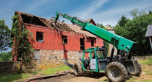 How an Irvington Company Salvaged a Century-Old Barn