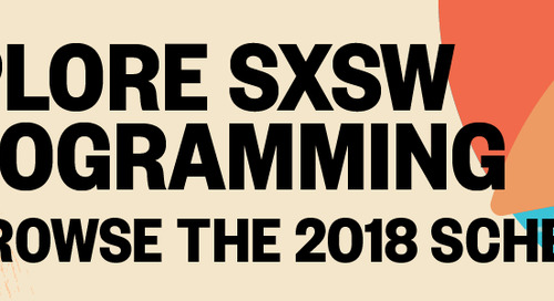 Ethical Personality Design, Digital Fabrication, and Data Visualization: Design Track Sessions for SXSW 2018