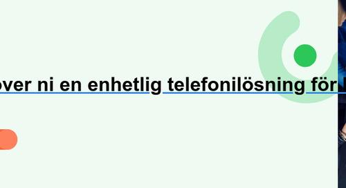 Växeltjänst för nordiska företag – den ultimata lösningen | Telavox