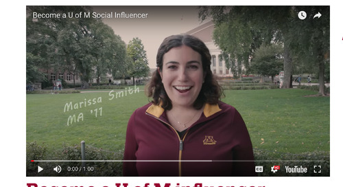 How the University of Minnesota Leveraged Social Ambassadors for Giving Day