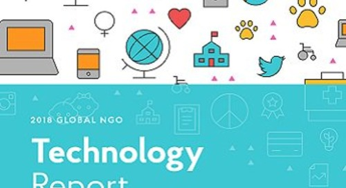 Six Best Practices from the NGO Technology Report