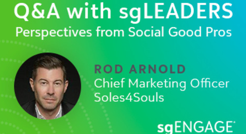 Q&A with sgLEADERS: Rod Arnold, Soles4Souls