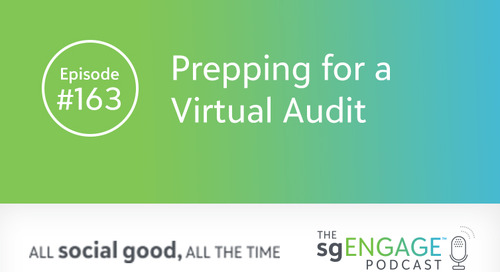 The sgENGAGE Podcast Episode 163: Prepping for a Virtual Audit