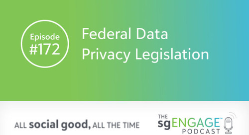 The sgENGAGE Podcast Episode 172: Federal Data Privacy Legislation