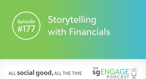 The sgENGAGE Podcast Episode 177: Storytelling with Financials