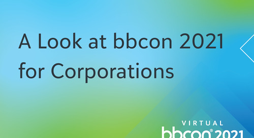 A Look at bbcon 2021 for Corporations