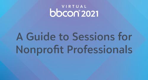 A Guide to bbcon 2021 Virtual for Nonprofits