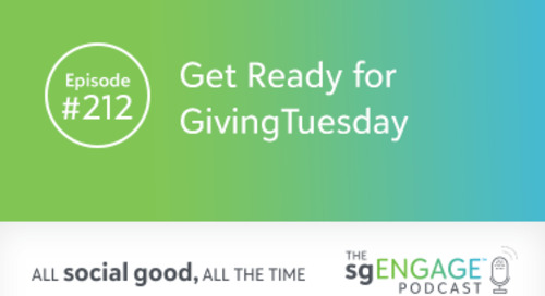 Episode 212: Get Ready for GivingTuesday