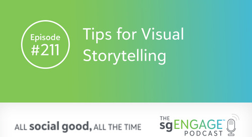 The sgENGAGE Podcast Episode 211: Tips for Visual Storytelling