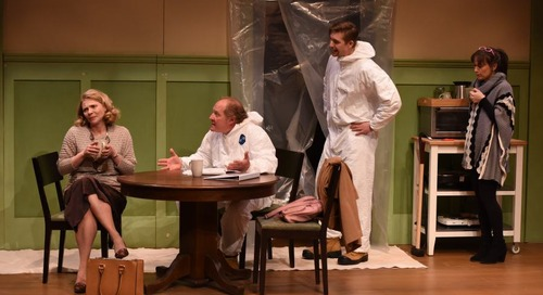 Everything but the kitchen sink goes into the laughs at PTE's play on home renos