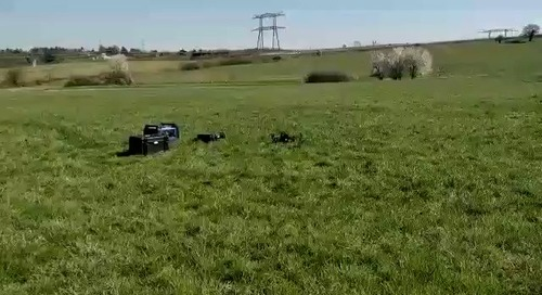 Helper drone