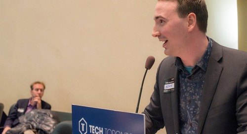 Kevin Gervais, PDG de Statflo, présente « Comment jouer dans la cour des grands » à TechTO