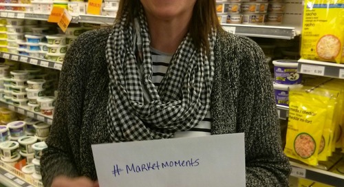 #marketmoments pick an envelope and get a free treat today at Corner Brook Dominion