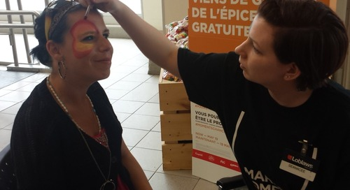 """Get your #FacePainting today at #Rideau #Loblaws for #MarketMoments. #Ottnews https"