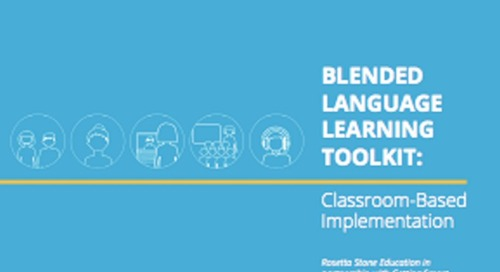 Getting Smart: Blended Language Learning Toolkit: Classroom-Based Implementation