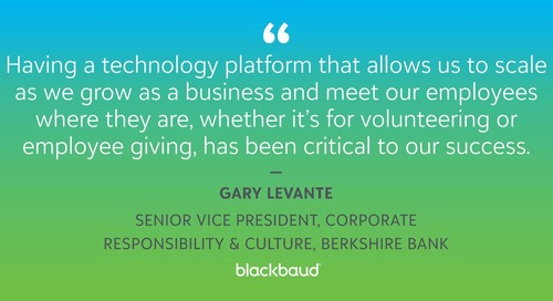 Blackbaud Corporate Solutions