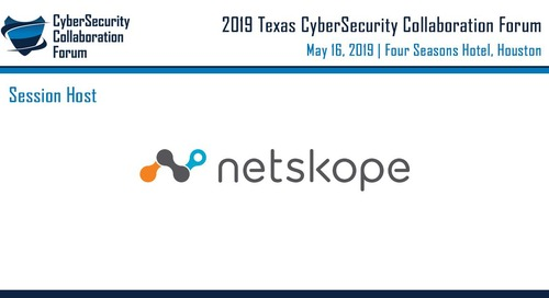 CyberSecurity Collaboration Forum