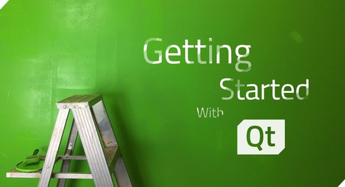 Get started with Qt  - May 29, 2020