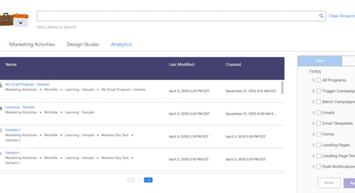 How To Use Marketo Sky's New Search Tool: The Marketo Sky Blog Series