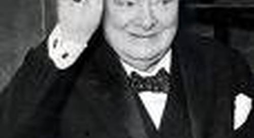 Sir Winston Churchill to Socialist MP Bessie Braddock