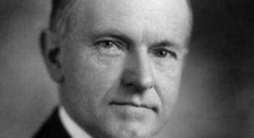 Coolidge on Persistence and Perseverance