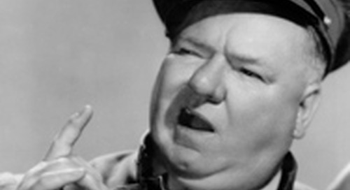 WC Fields on being Safety Conscious