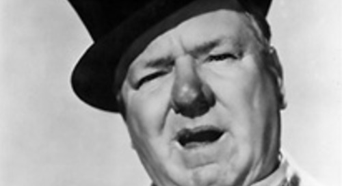 W. C. Fields on Facing Adversity