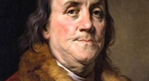 Franklin on Investing in Yourself