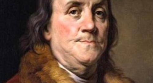 Ben Franklin on Habits
