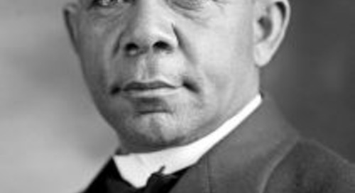 Booker T. Washington on Overcoming Obstacles