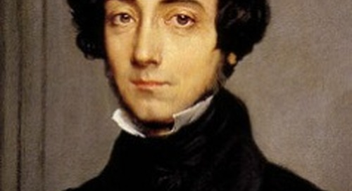 de Tocqueville on Government Control