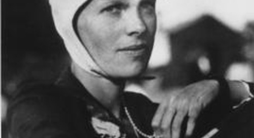 Amelia Earhart on Tenacity